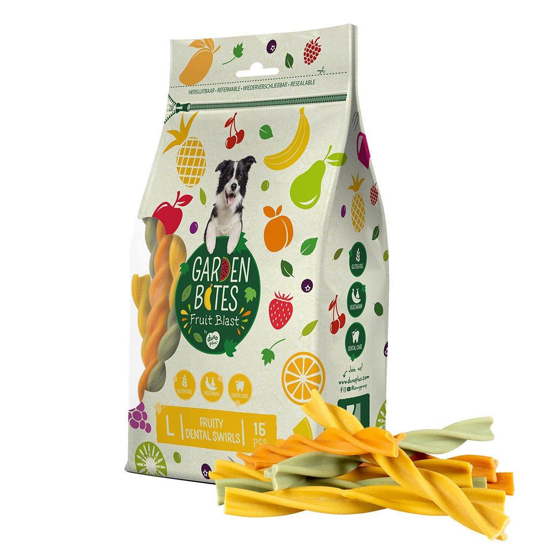 Duvo+ Garden Bites Fruity Dental Swirls Preview Image