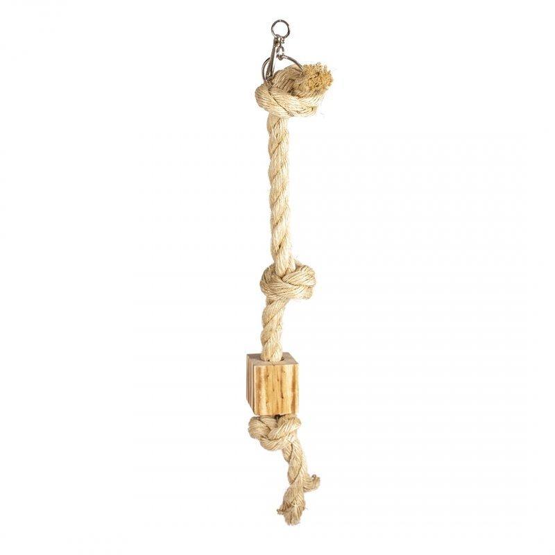 Duvo+ Kletterseil mit Sisal und Holz