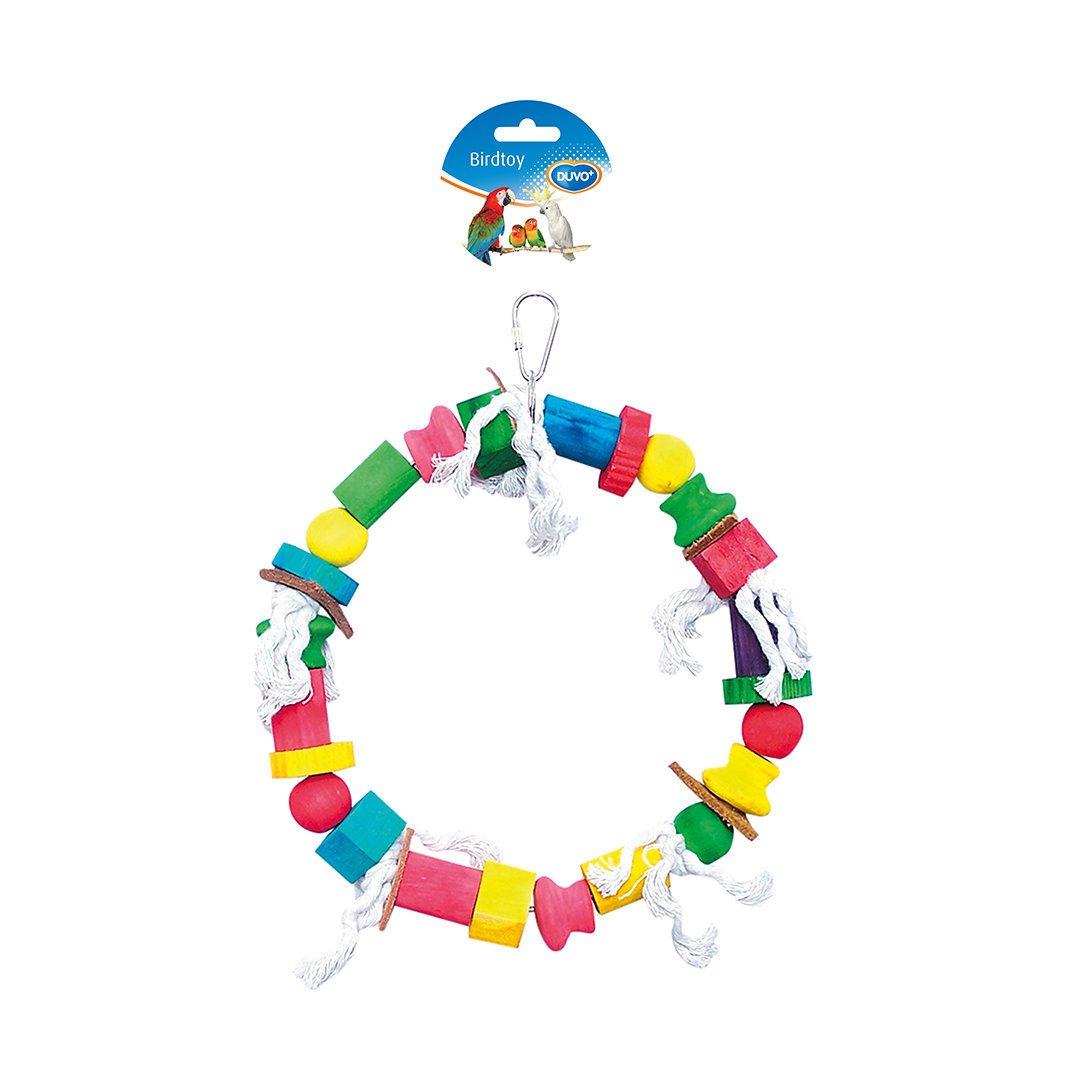 Duvo+ Seil Ring Spielzeug für Vögel