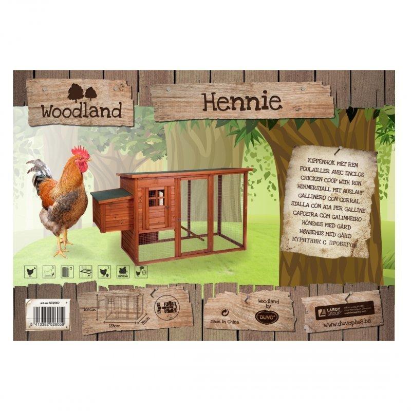 Duvo+ Woodland Hühnerstall Hennie classic, Bild 2