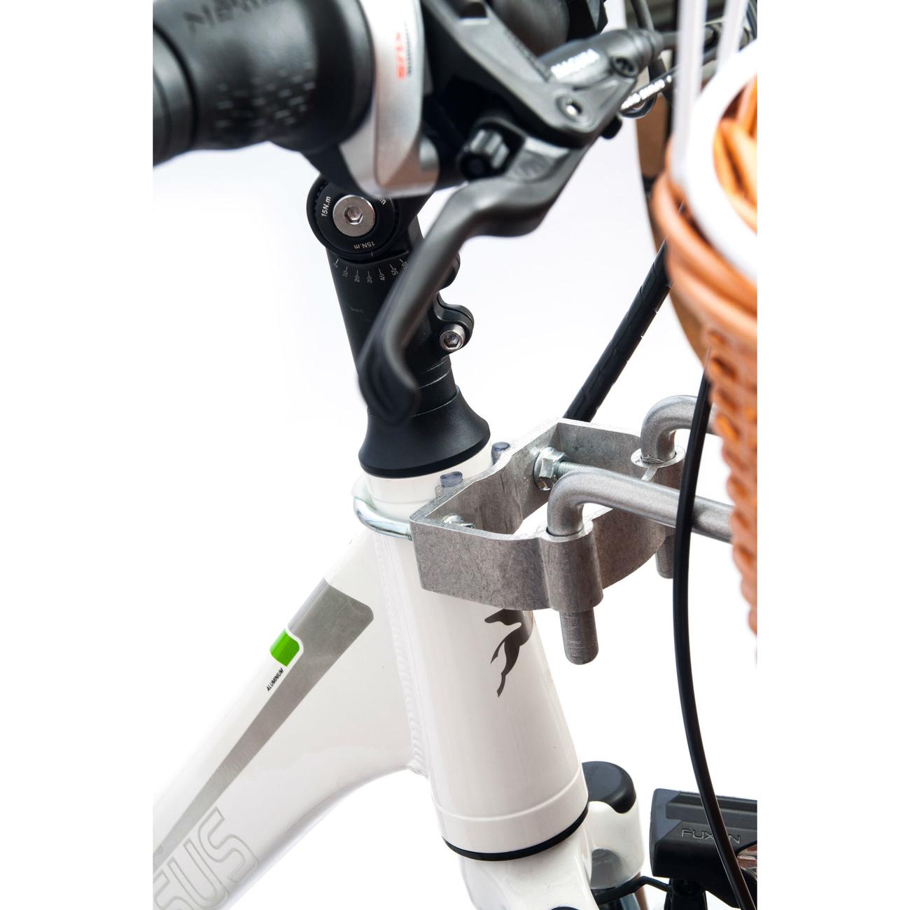 Aumüller E-Bike Hunde Fahrradkorb Standard vorne, Bild 12