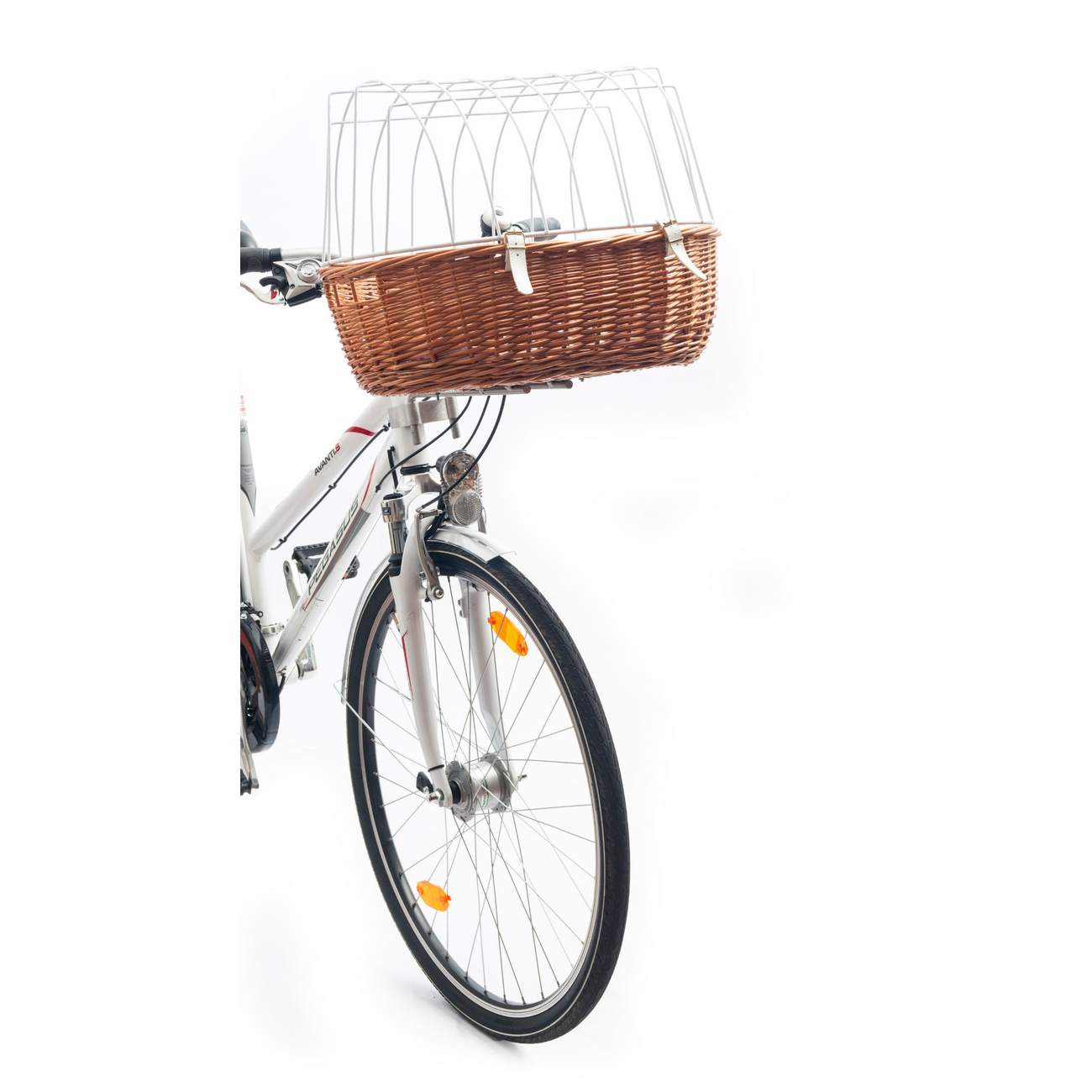 Aumüller E-Bike Hunde Fahrradkorb Standard vorne, Bild 4