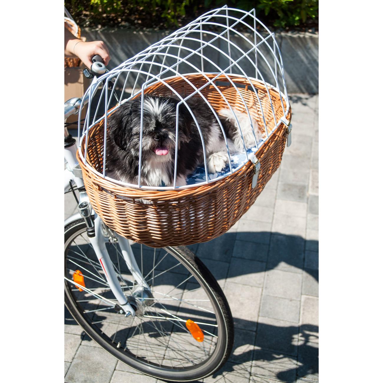 Aumüller E-Bike Hunde Fahrradkorb Standard vorne, Bild 3