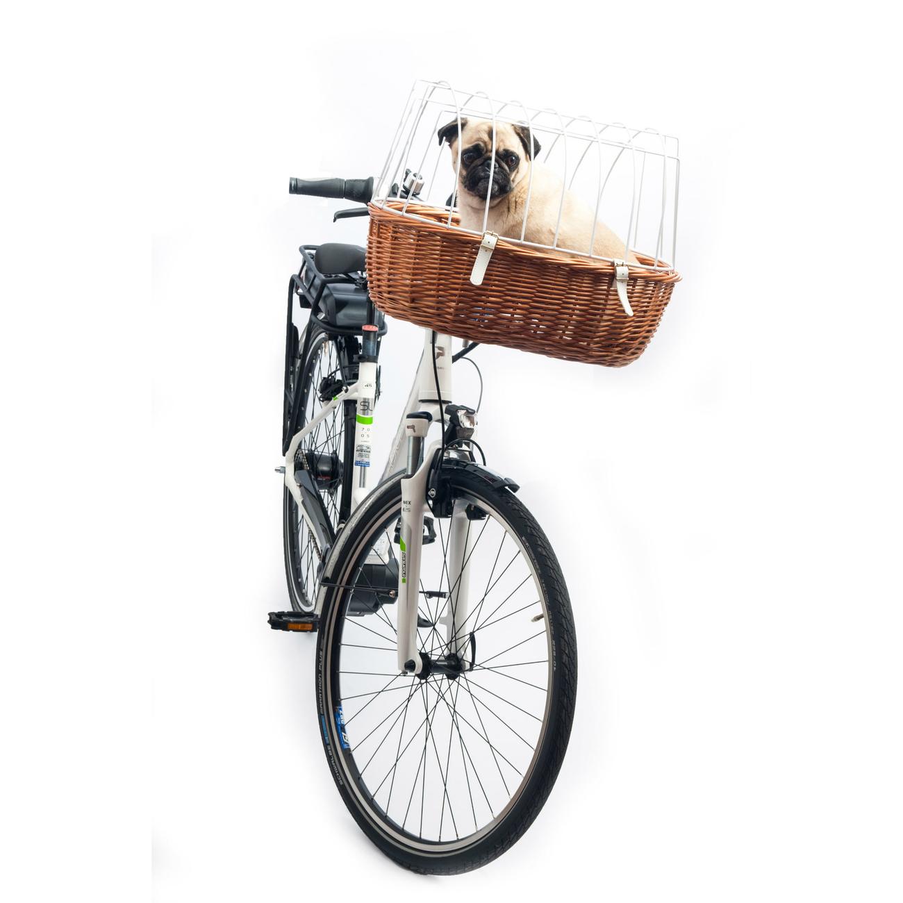 Aumüller E-Bike Hunde Fahrradkorb Standard vorne, Bild 6