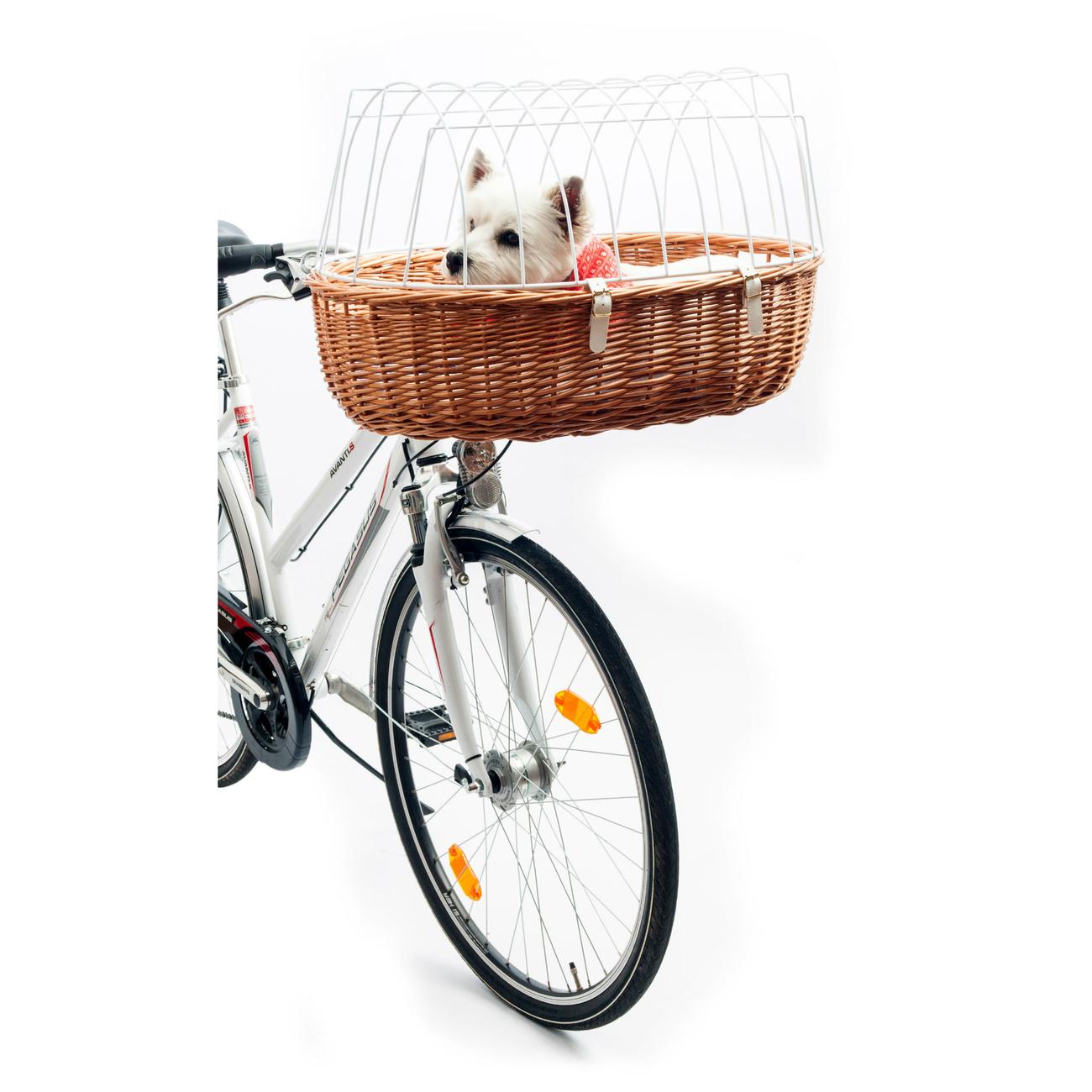 Aumüller E-Bike Hunde Fahrradkorb Standard vorne, Bild 7