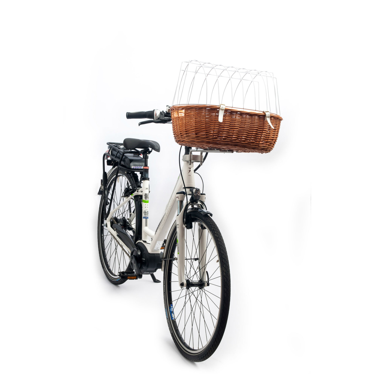 Aumüller E-Bike Hunde Fahrradkorb Standard vorne, Bild 10
