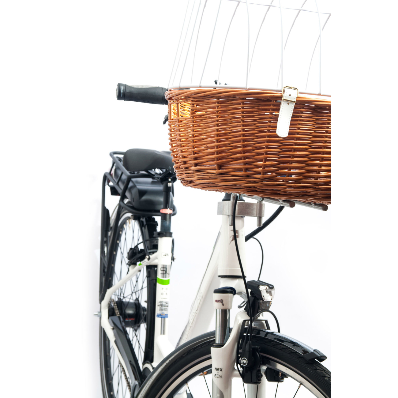 Aumüller E-Bike Hunde Fahrradkorb Standard vorne, Bild 9