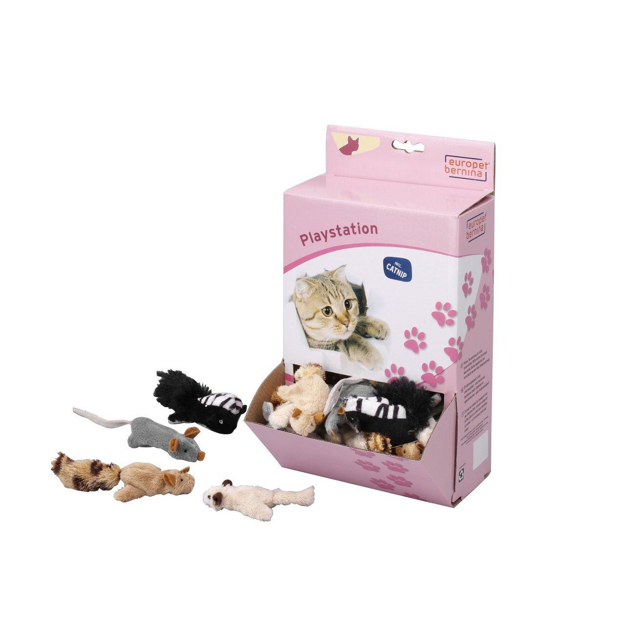 EBI Catnip-Spielzeug mit Katzenminze, 7 cm, 1 Stück