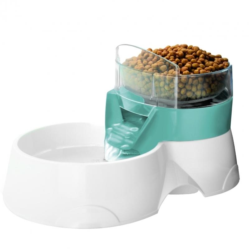 EBI Feeder 2-in-1 Wasser- und Futterspender für Haustiere