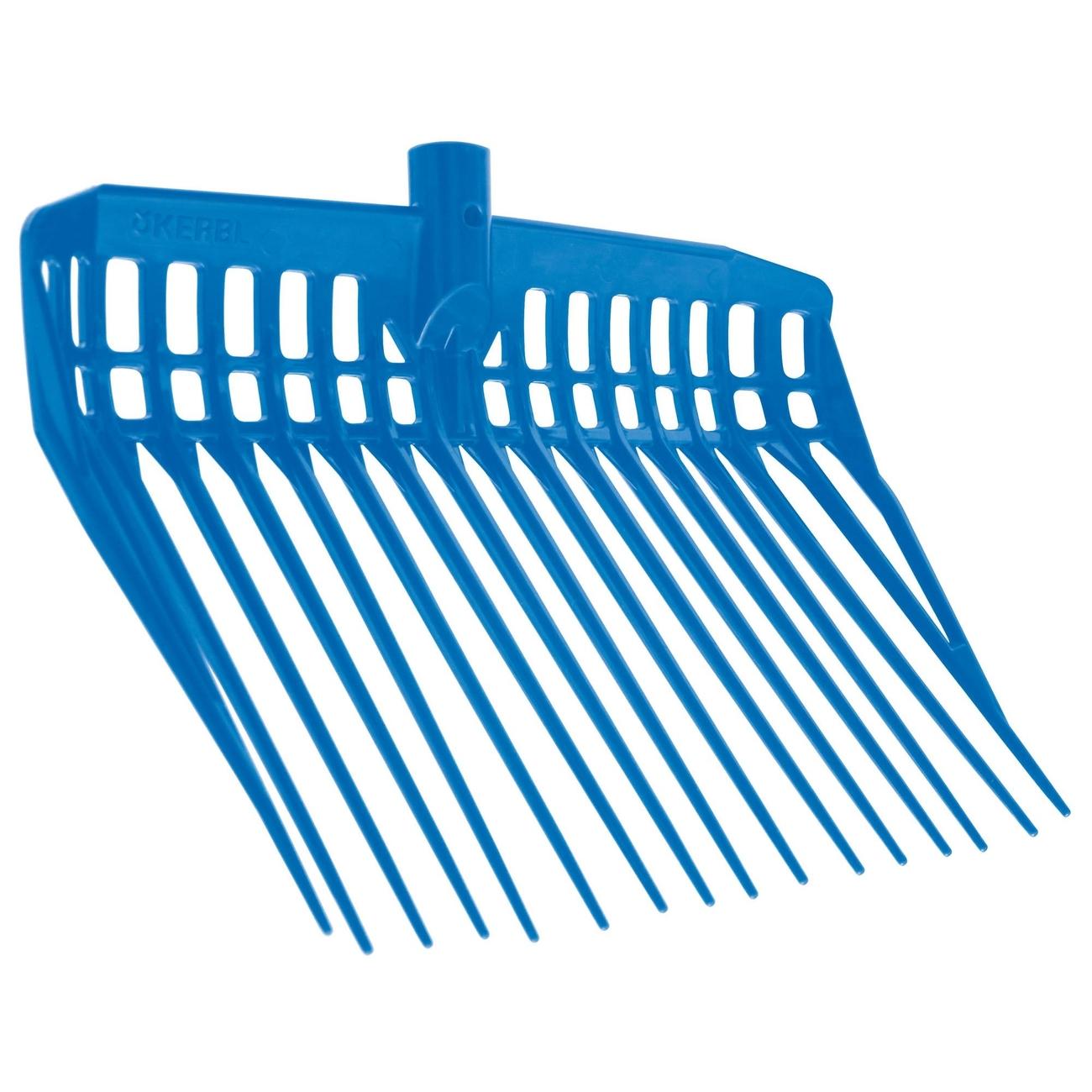 Kerbl EcoFork Mistgabel, blau, ohne Stiel