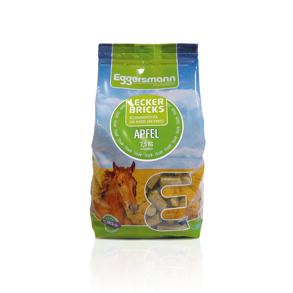 Eggersmann Lecker Bricks, Apfel 2,5 kg