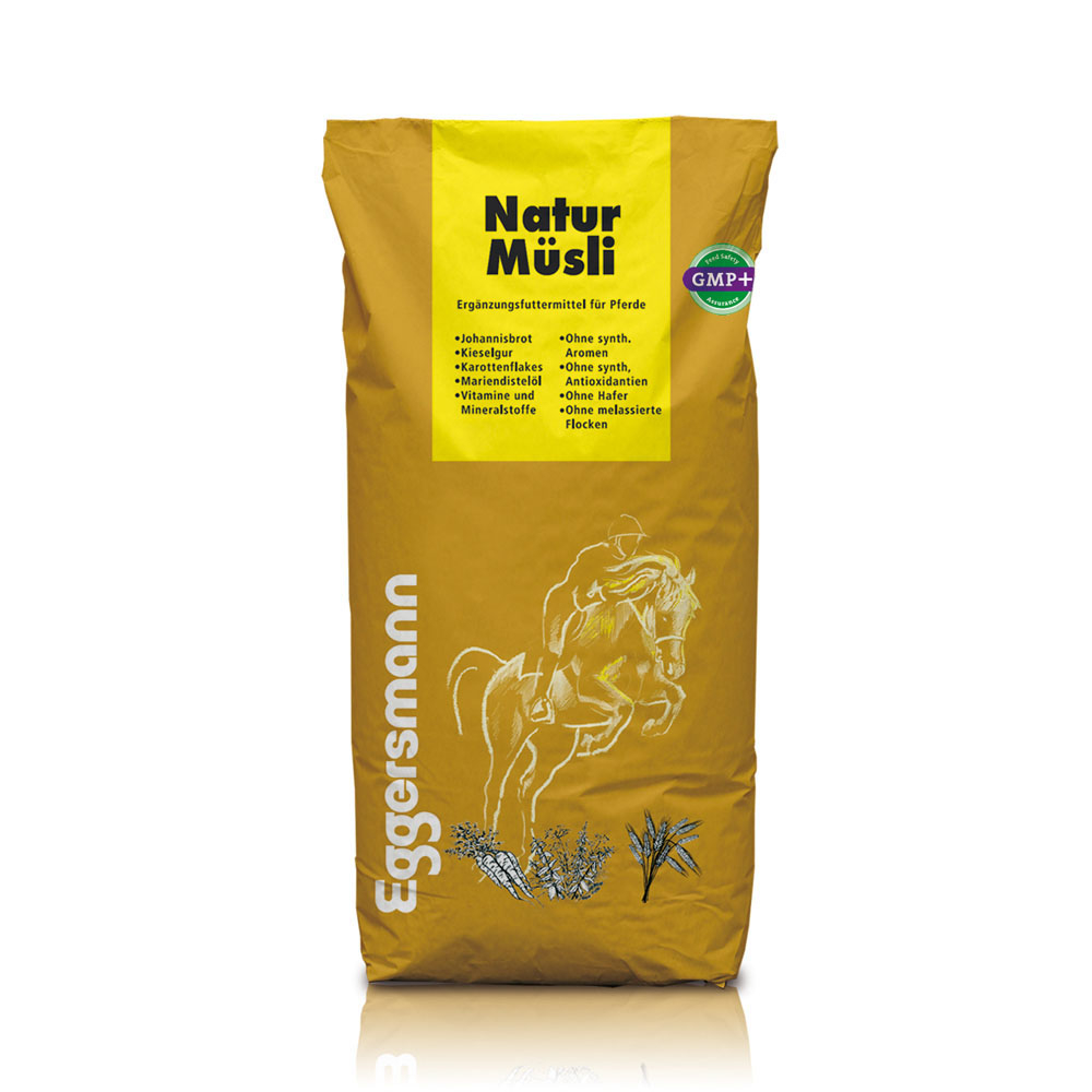 Eggersmann Natur Müsli Pferdefutter, 20 kg