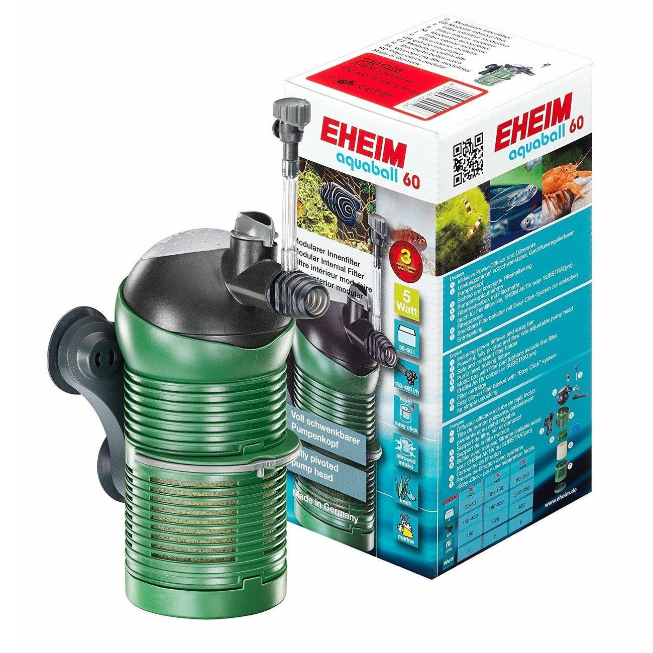 EHEIM aquaball Innenfilter für Aquarium, aquaball 60, 30-60l