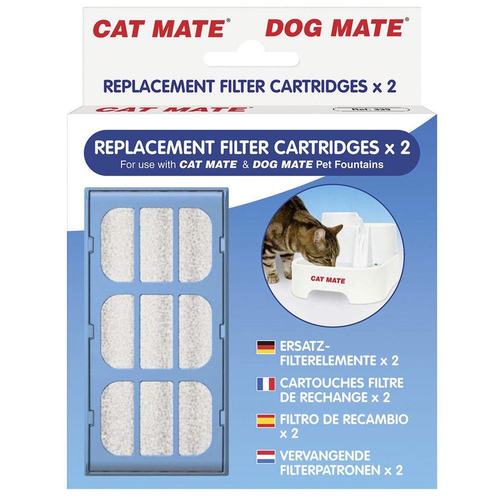 Kerbl Ersatzfilter für Trinkbrunnen Cat Mate und Dog Mate 2 Stk, Bild 2