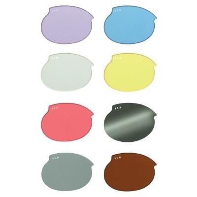 Ersatzgläser für Doggles ILS Schutzbrille, pink für Gr. S (Paar)