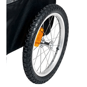 Karlie Ersatzrad für Doggy Liner Hunde Fahrradanhänger, Ersatzrad für Paris KF1030655