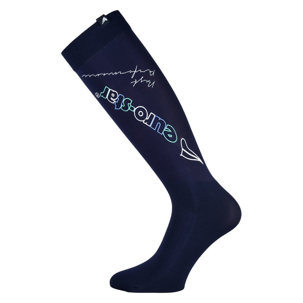 Euro-Star Design Reitsocken, Gr. L - navy