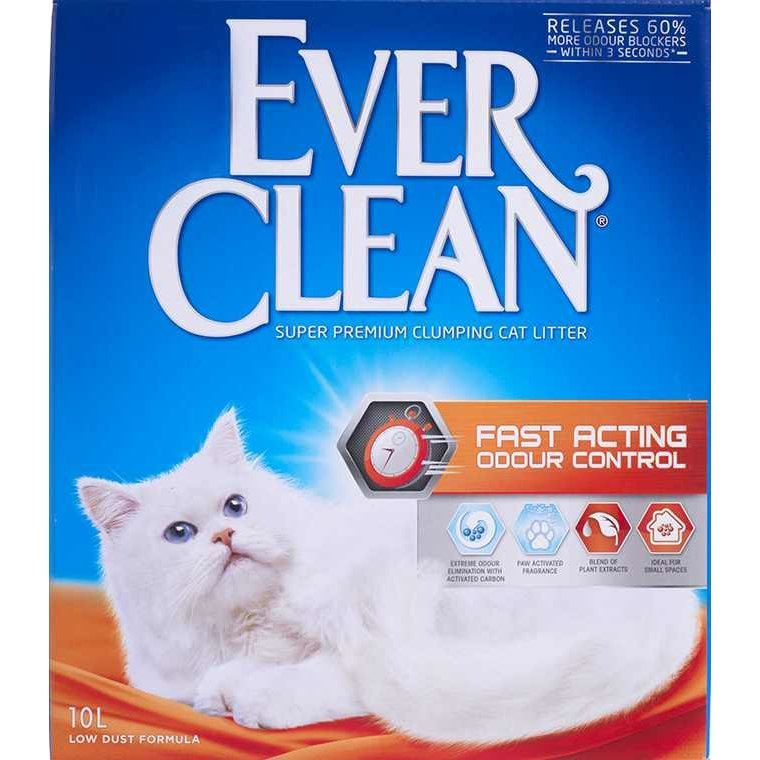 Ever Clean Fast Acting Katzenstreu, 10 Liter
