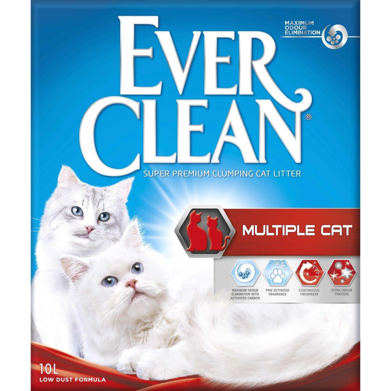 Ever Clean Multiple Cat Katzenstreu, 6 Liter
