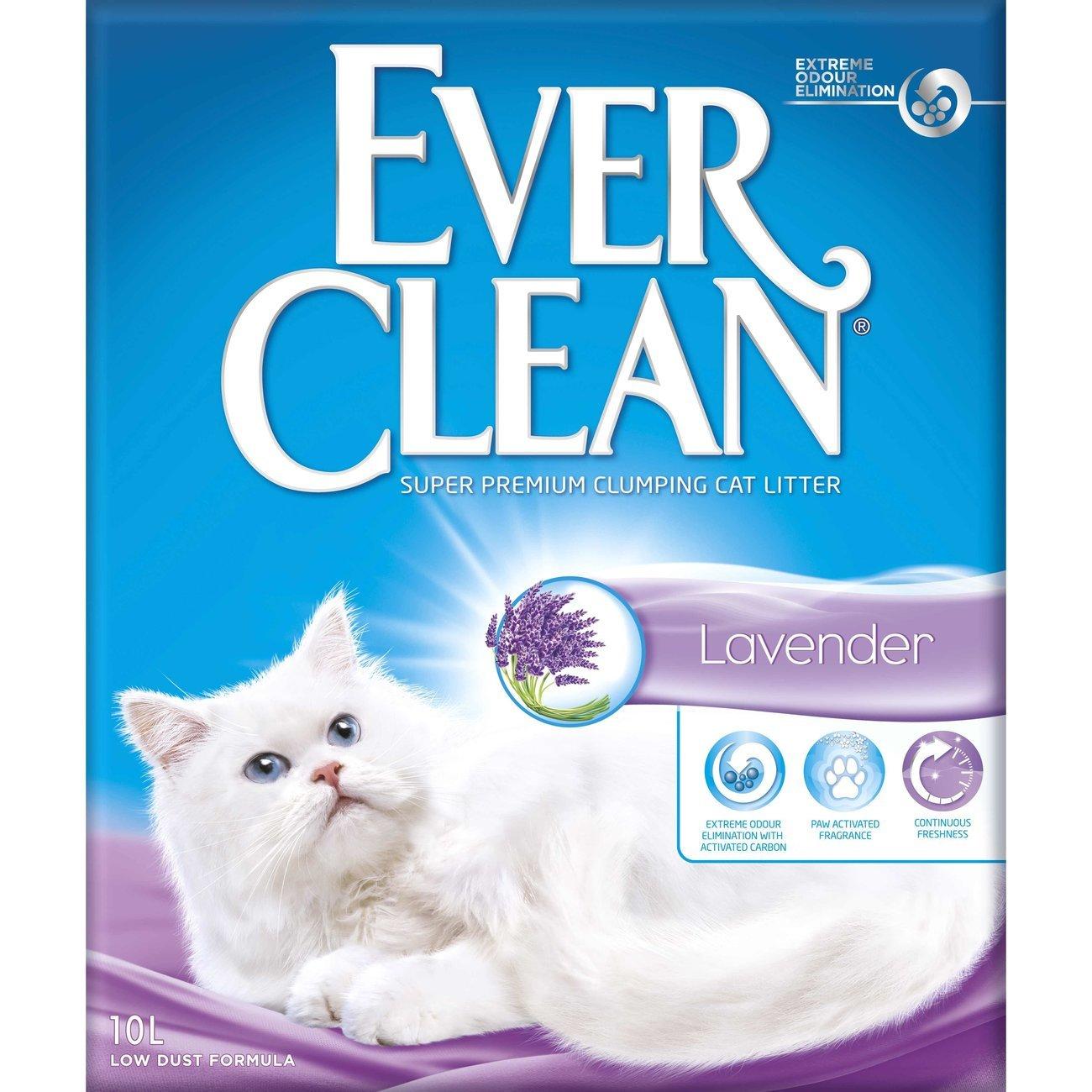 Ever Clean Lavender Katzenstreu, 10 Liter
