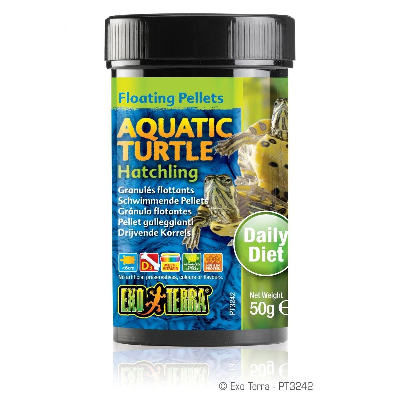 Exo Terra - Aquatic Turtle Hatchling, schwimmende Futter-Pellets, Bild 2