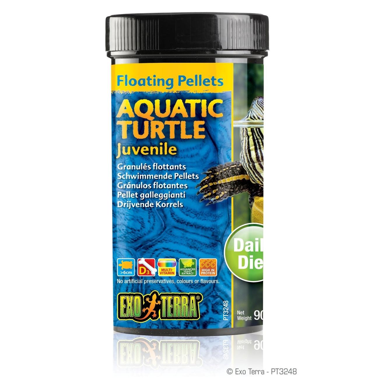 Exo Terra - Aquatic Turtle Juvenile, schwimmende Futter-Pellets Preview Image