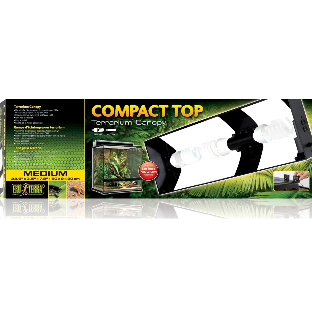 Exo Terra Compact Top - Abdeckung für Terrarienlampen, Bild 4