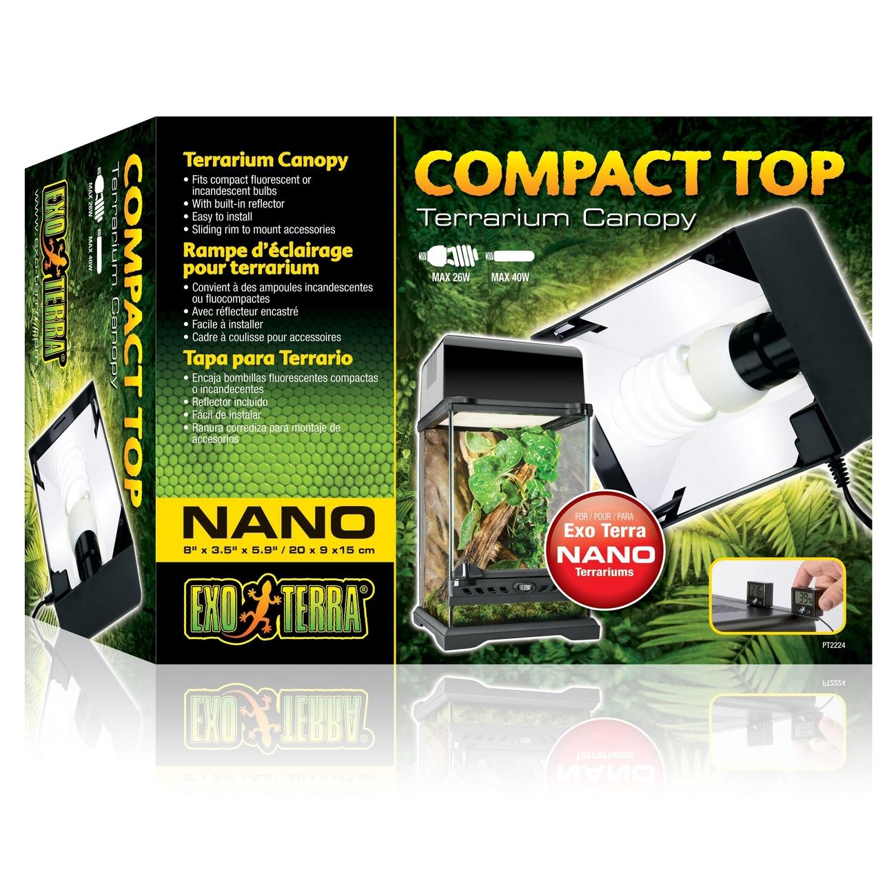 Exo Terra Compact Top - Abdeckung für Terrarienlampen