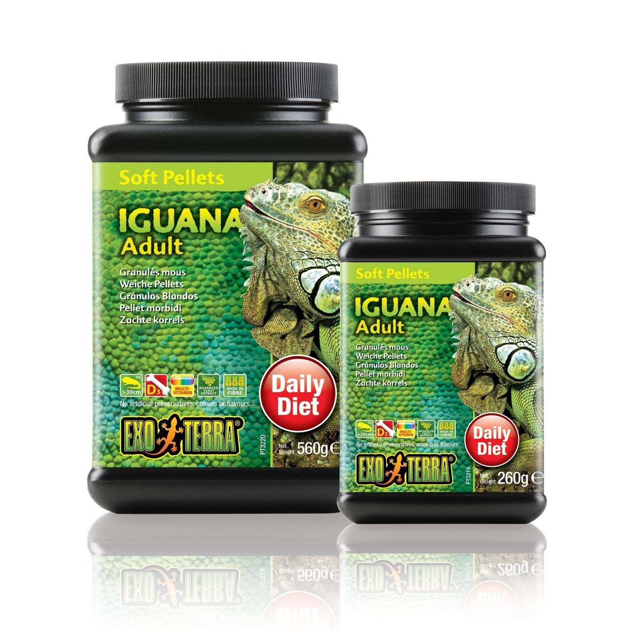 Hagen Exo Terra Futter - Soft Pellets für Leguane, Adult 560 g