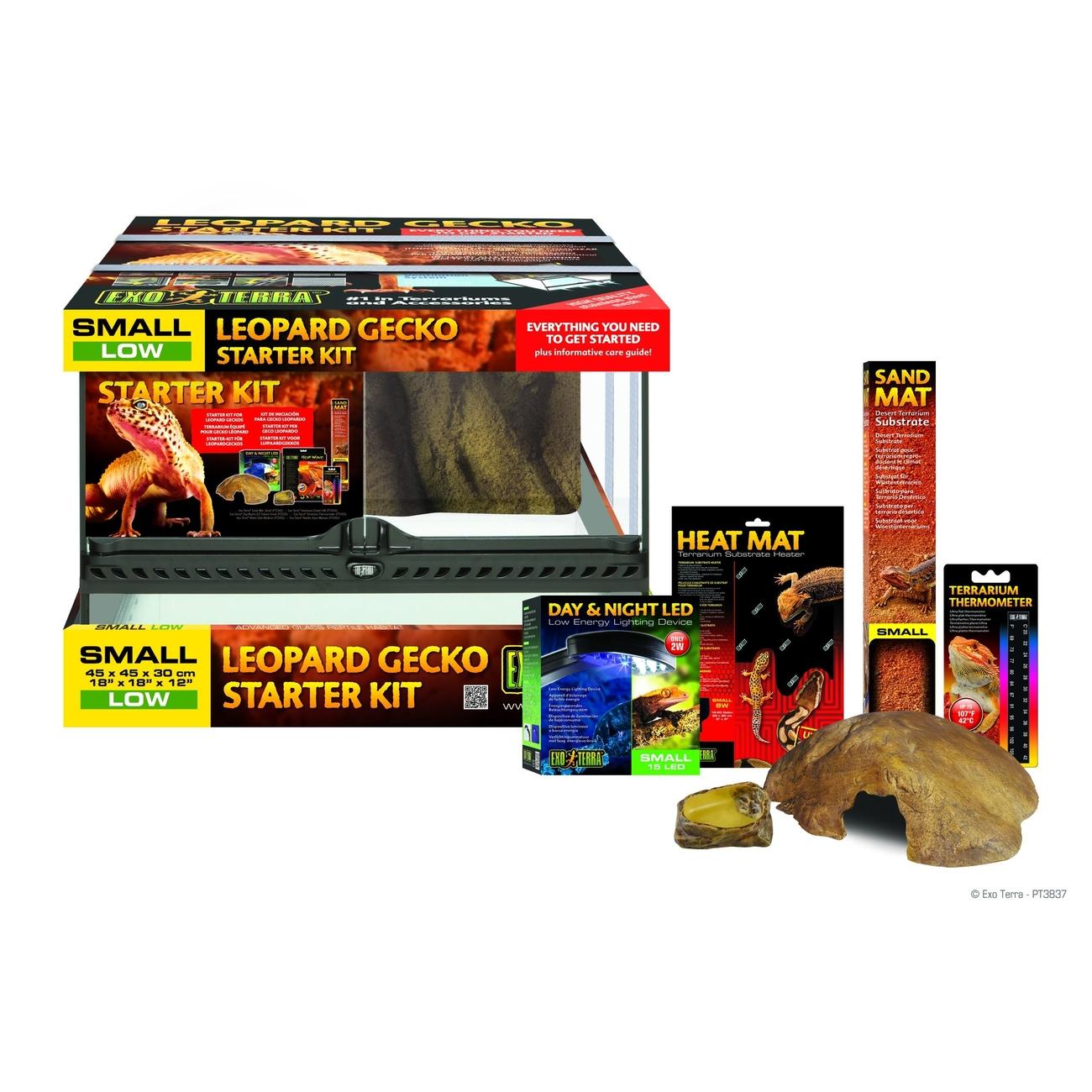 Hagen Exo Terra - Gecko Starter Kit, Leopard Gecko Starter Kit
