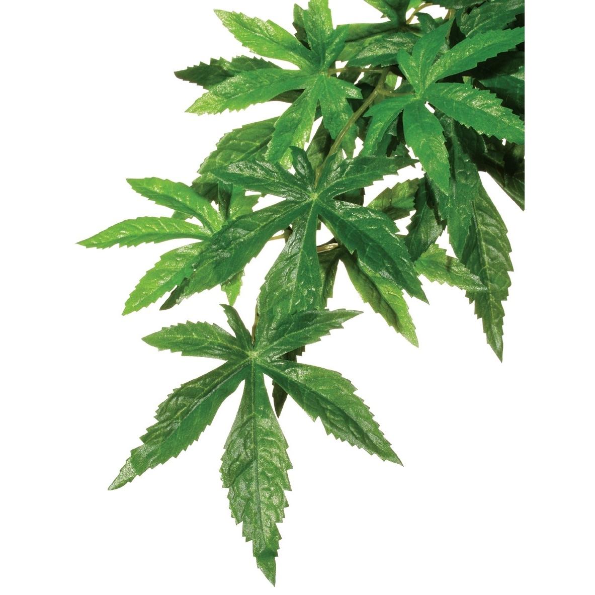 Hagen Exo Terra - hängende Pflanzen, Abutilon klein - 15,0 x 32,0 x 4,0 cm