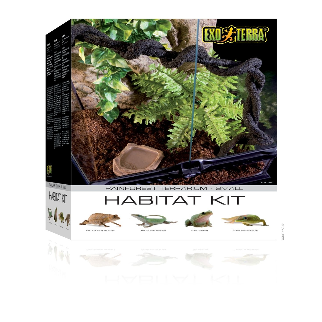 Hagen Exo Terra - Rainforest Habitat Kit, Gr.S - 30 x 45 x 30 cm