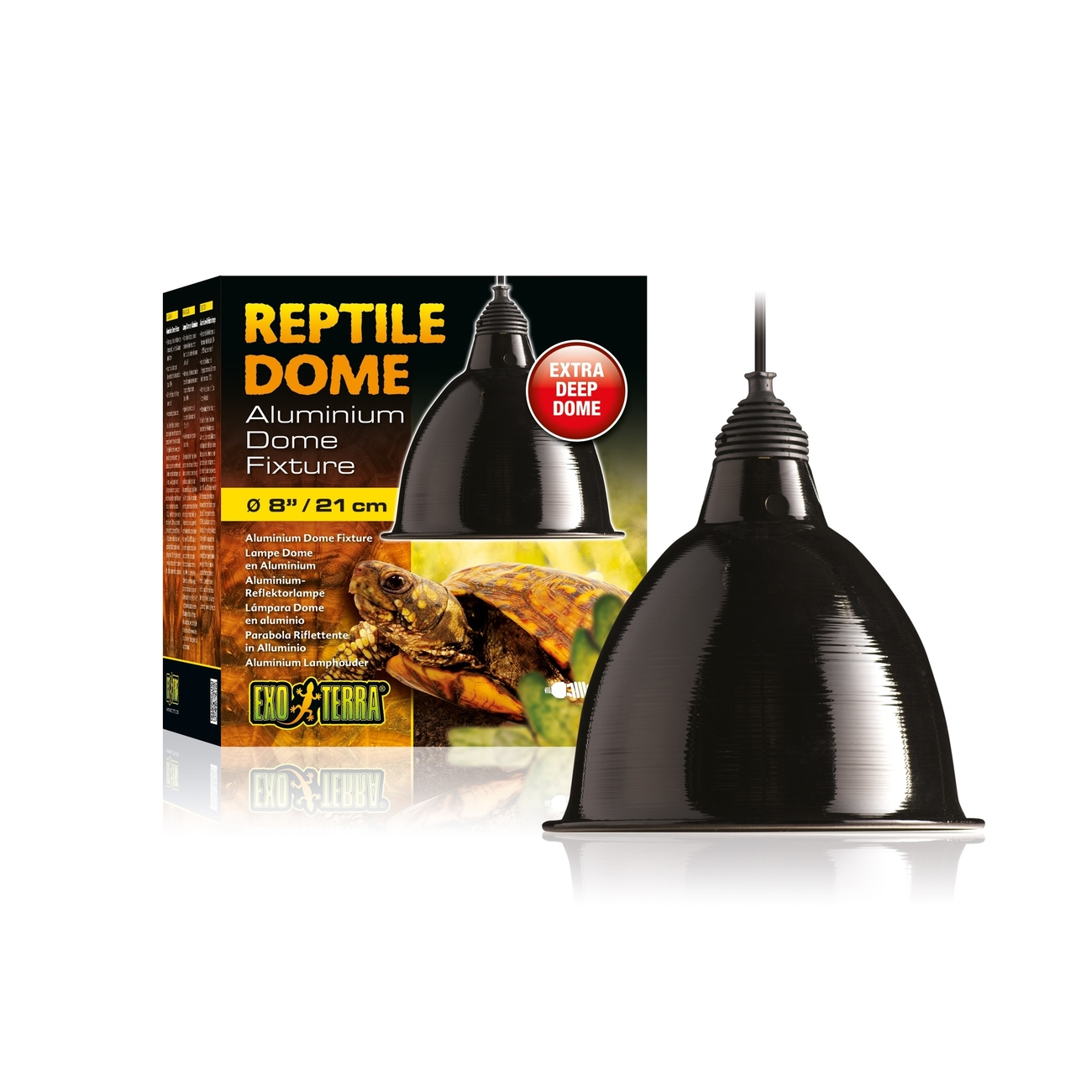 Exo Terra Reptile Dome - Aluminium Reflektorlampe, Bild 2
