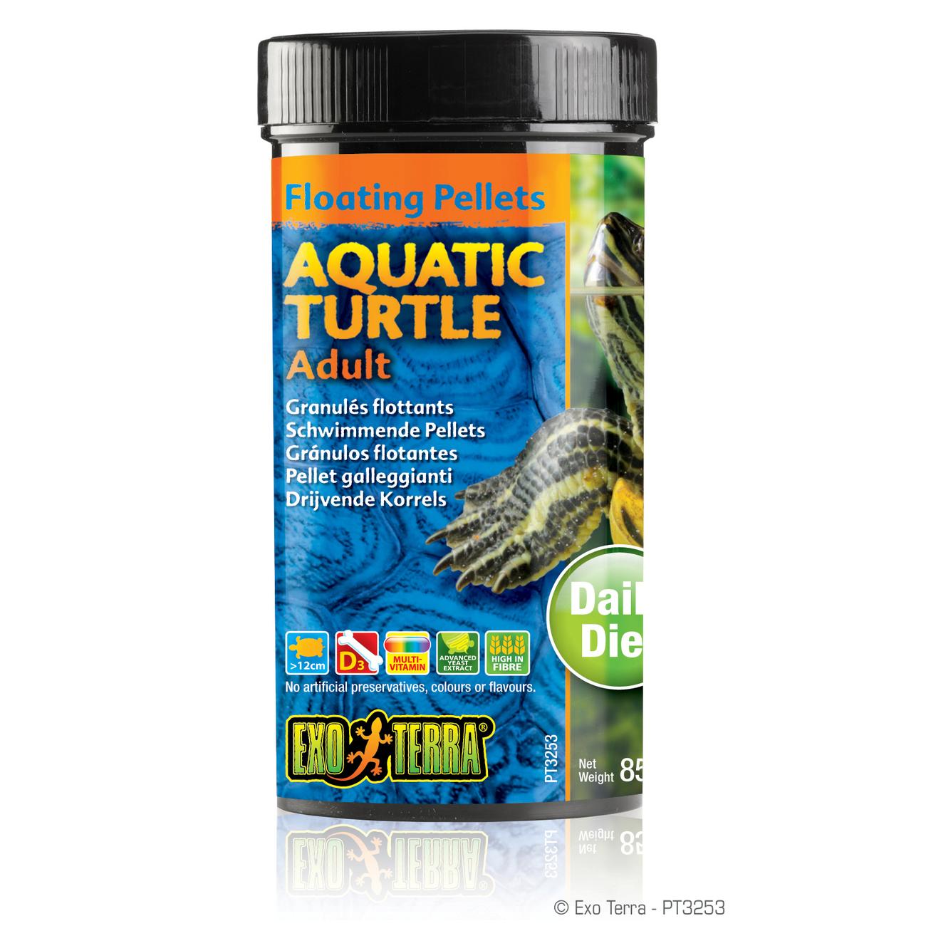 Exo Terra -  Aquatic Turtle Adult, schwimmende Futter-Pellets, Bild 2