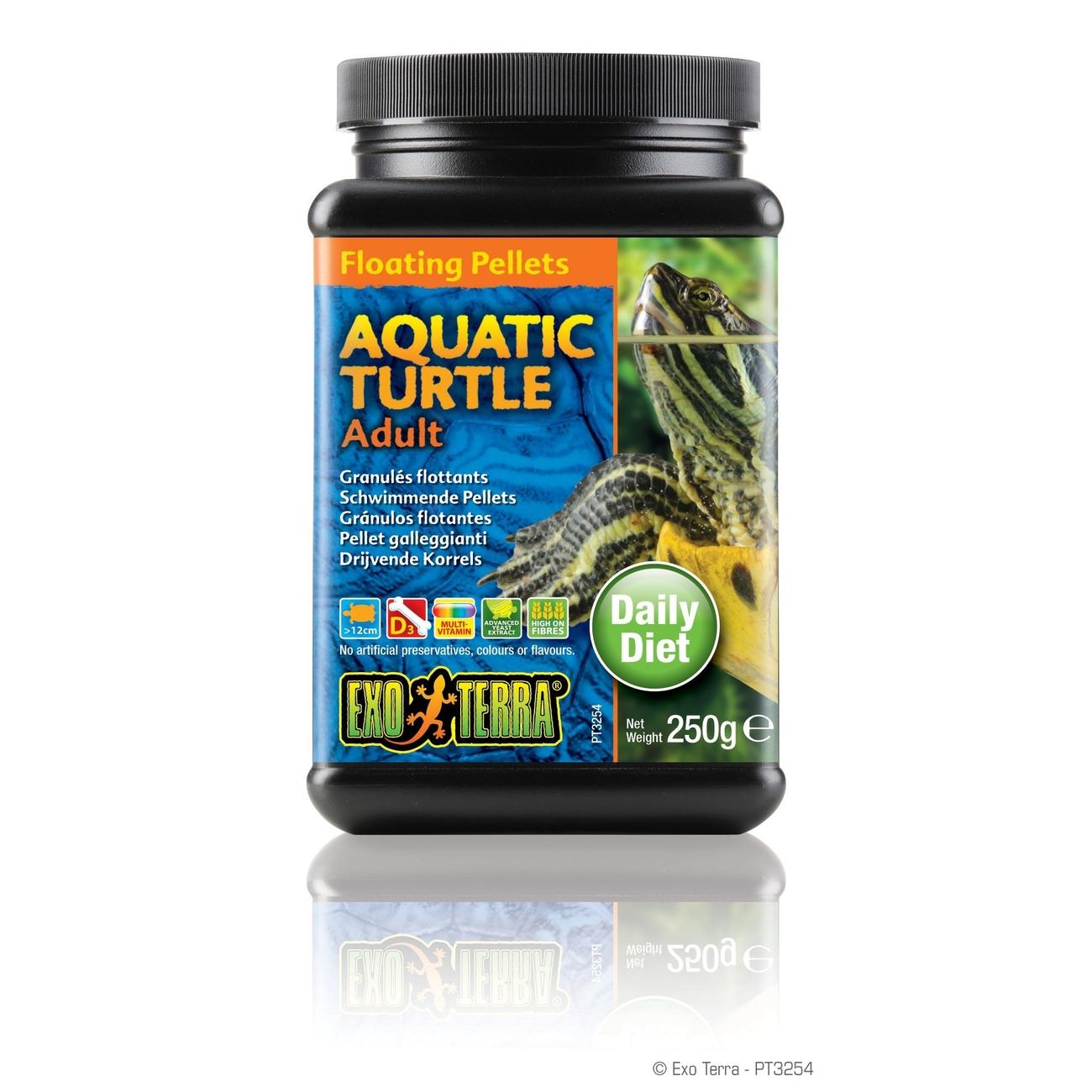 Exo Terra -  Aquatic Turtle Adult, schwimmende Futter-Pellets, Bild 3