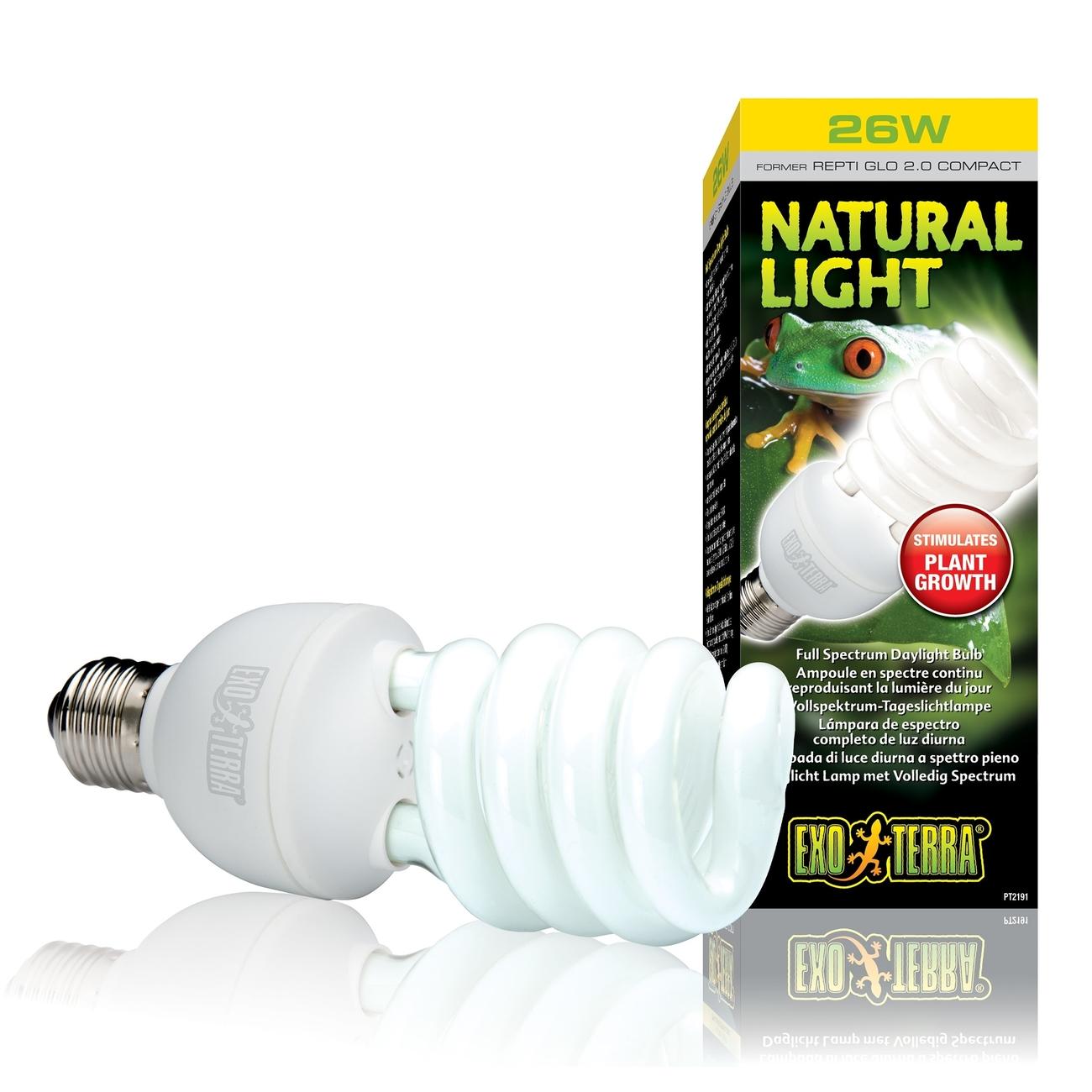 Hagen Exo Terra - Tageslichtlampe für alle Reptilien & Amphibien, 25 W