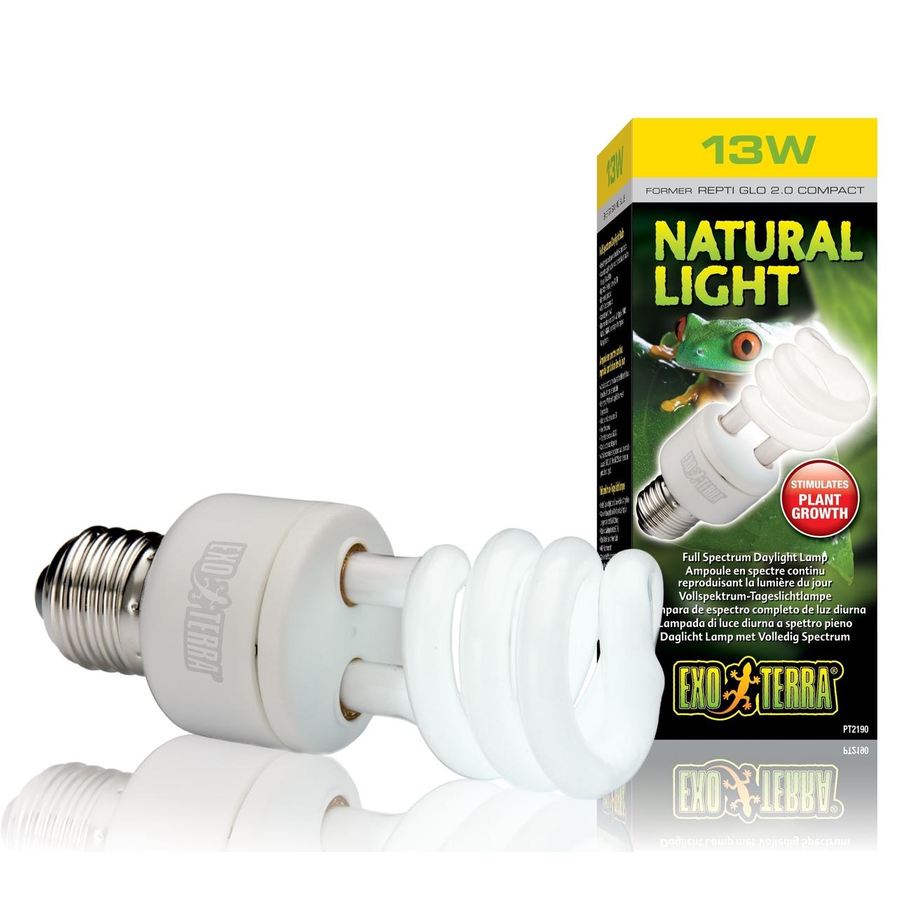 Hagen Exo Terra - Tageslichtlampe für alle Reptilien & Amphibien, 13 W