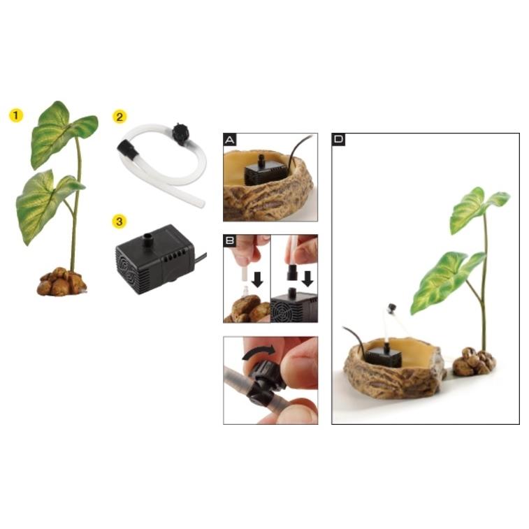 Exo Terra - Tropfpflanze mit Pumpe, Bild 5