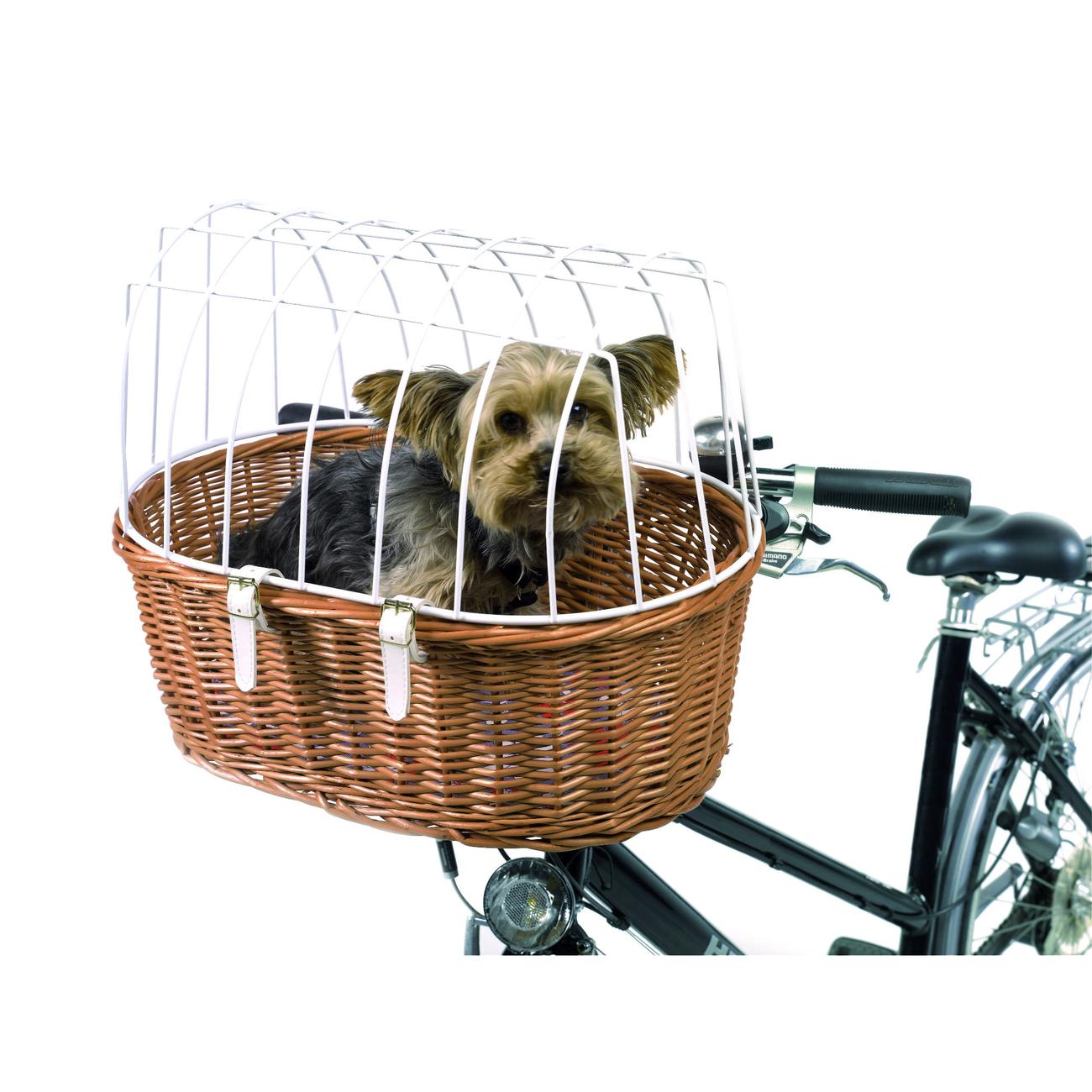 Fahrradkorb Befestigungssystem Nr. 166 für Aumüller Fahrradkörbe mit Steuerkopfmontage, Montage vorn