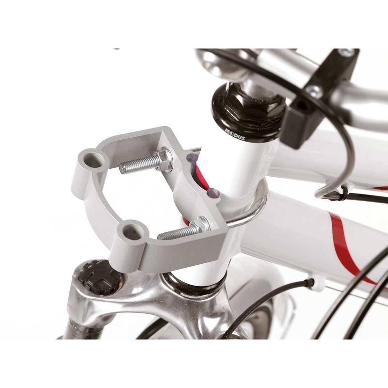 Aumüller Fahrradkorb Halterung für E-Bikes Steuerkopfmontage, Rahmendurchmesser 38 bis 52 mm - belastbar bis 12 kg