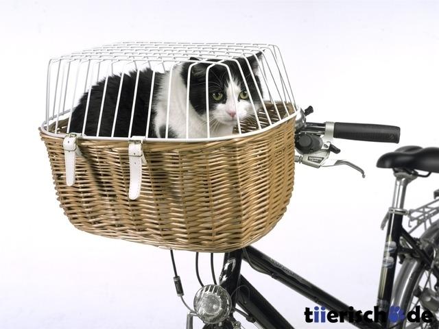 Aumüller Hunde Fahrradkorb für Lenker mit Gitter, Bild 3