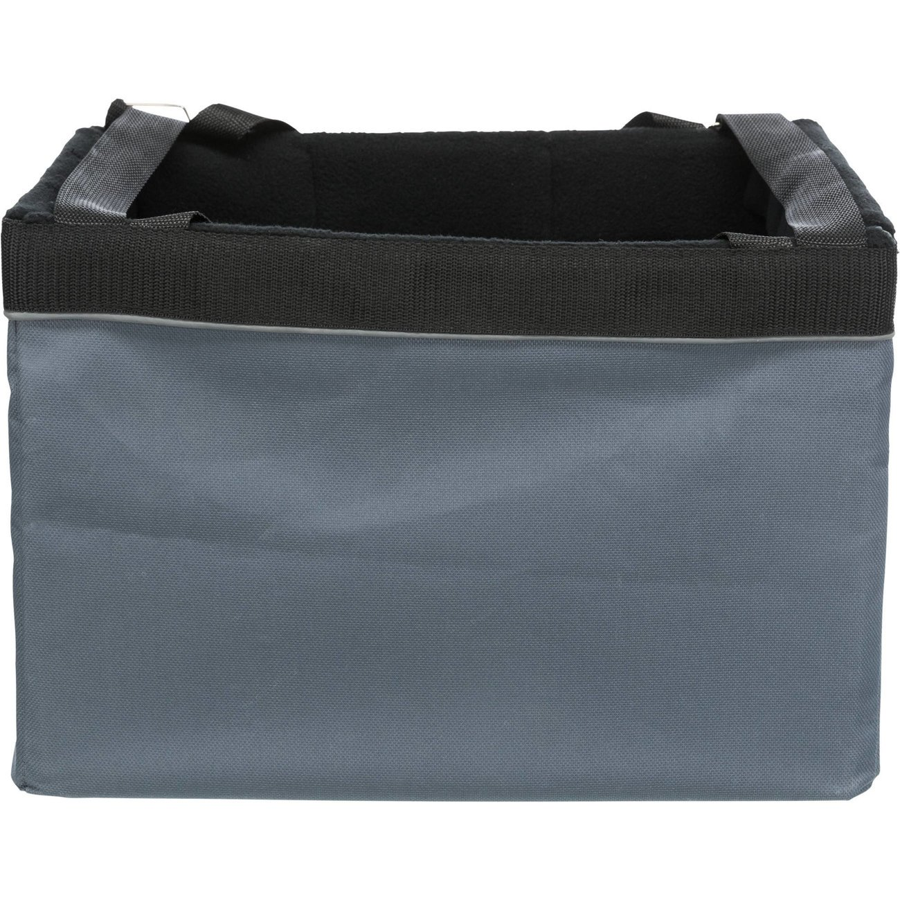 Trixie Fahrradtasche Front-Box, 38 × 25 × 25 cm, grau
