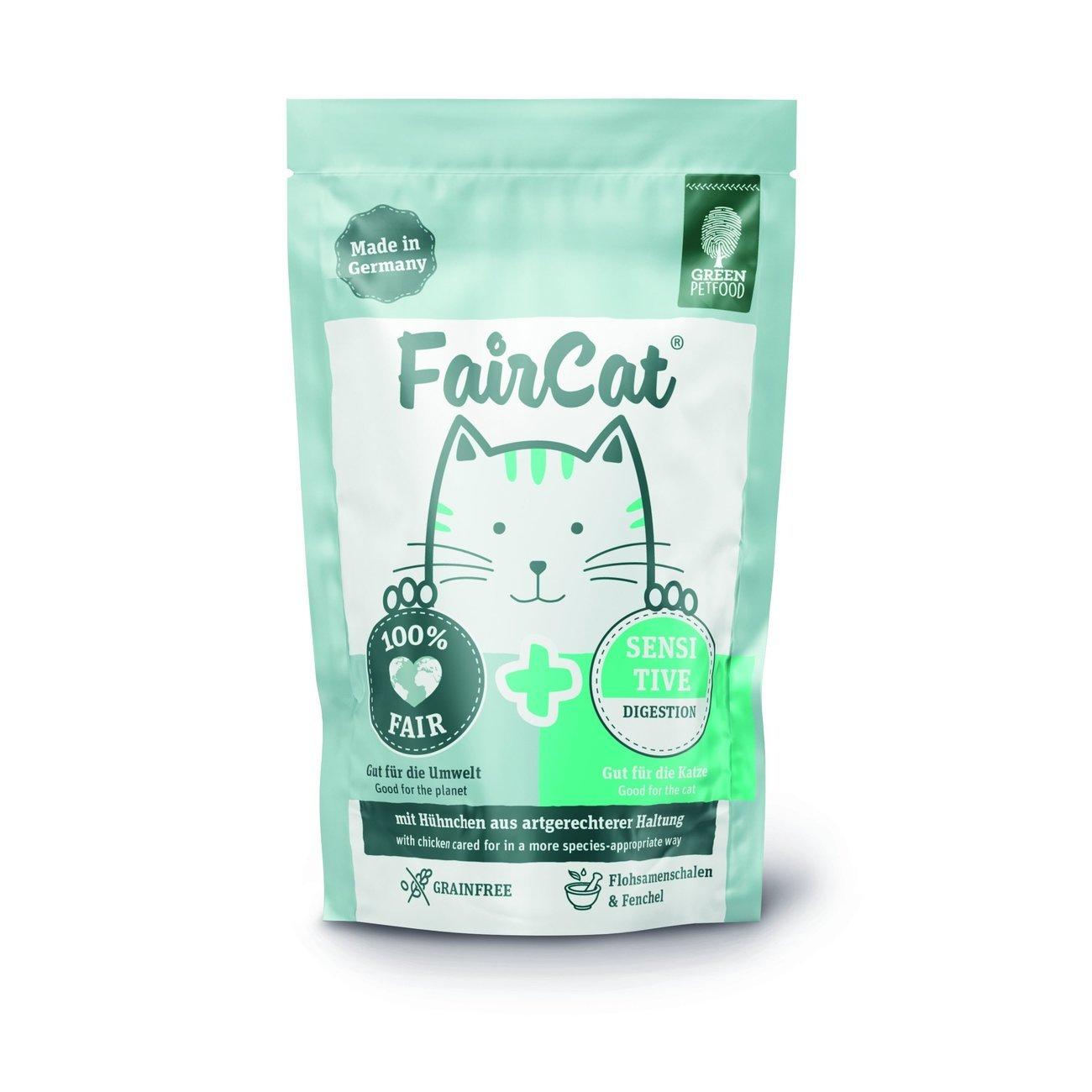 Green Petfood FairCat Sensitive Katzenfutter