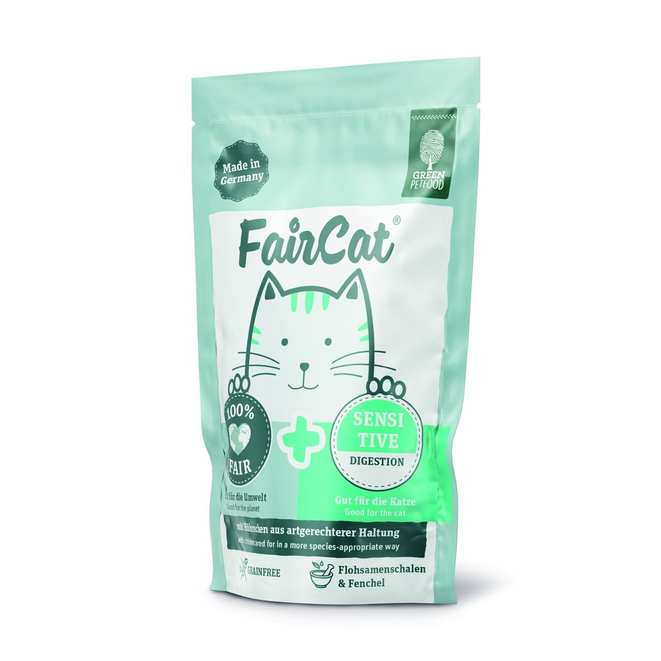 Green Petfood FairCat Sensitive Katzenfutter, Bild 2