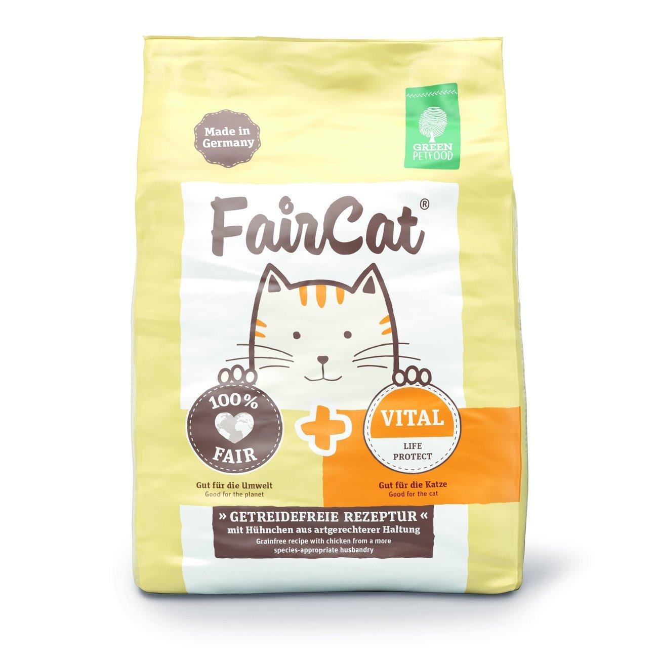 Green Petfood FairCat Vital Katzenfutter