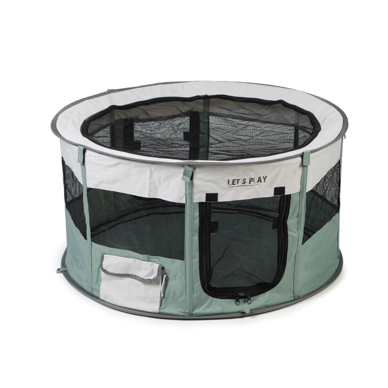 Beeztees Faltbarer Freilauf für Welpen und Kleintiere aus Nylon, Bild 2