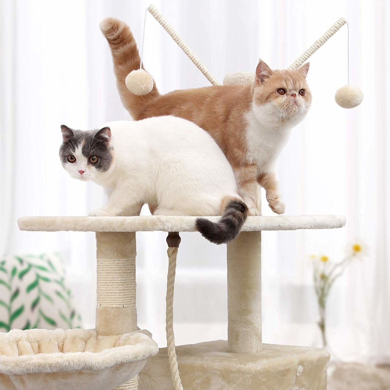 FEANDREA by SONGMICS Kletterbaum für Katzen, Bild 11