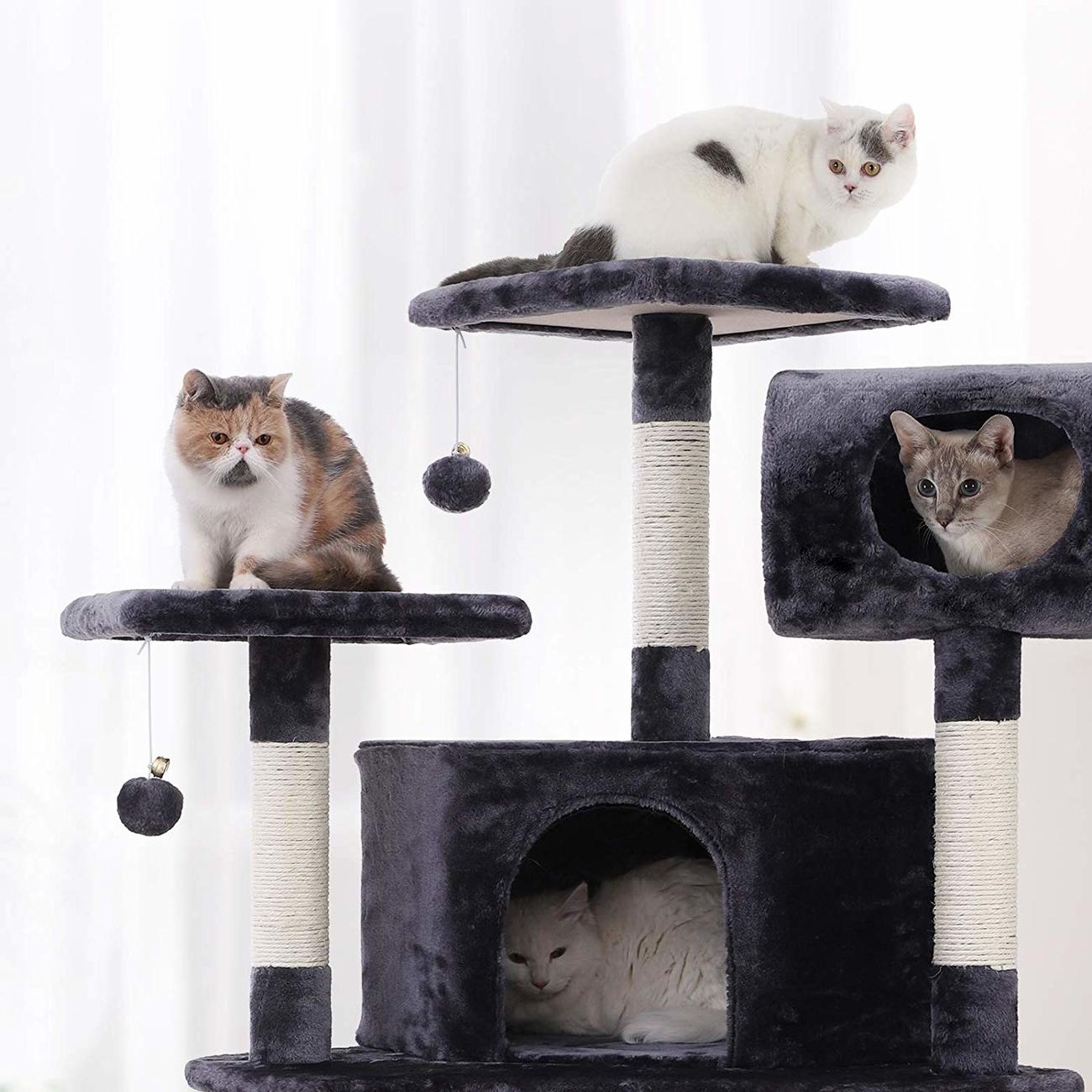 FEANDREA by SONGMICS Kratzbaum für Katzen XXL, Bild 8