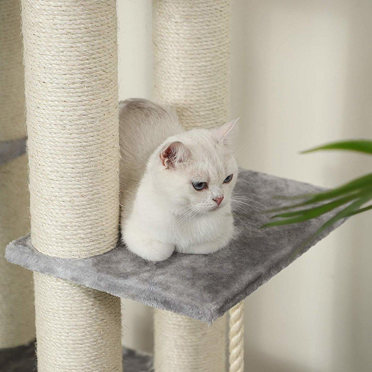 FEANDREA Katzen Kratzbaum mit Aussichtsplattform, Bild 8
