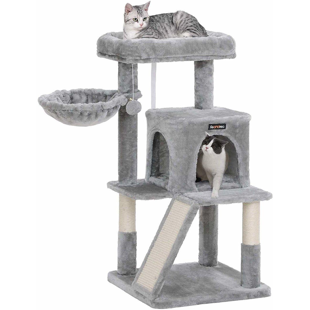 FEANDREA Katzenbaum, Kletterturm für Katzen mittel, Bild 5